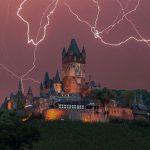 Mosel Puzzle – Wir lieben die Mosel – Reichsburg Cochem im Gewitter