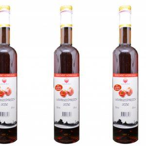 Roter Weinbergspfirsich Likör von der Mosel 20% alc.