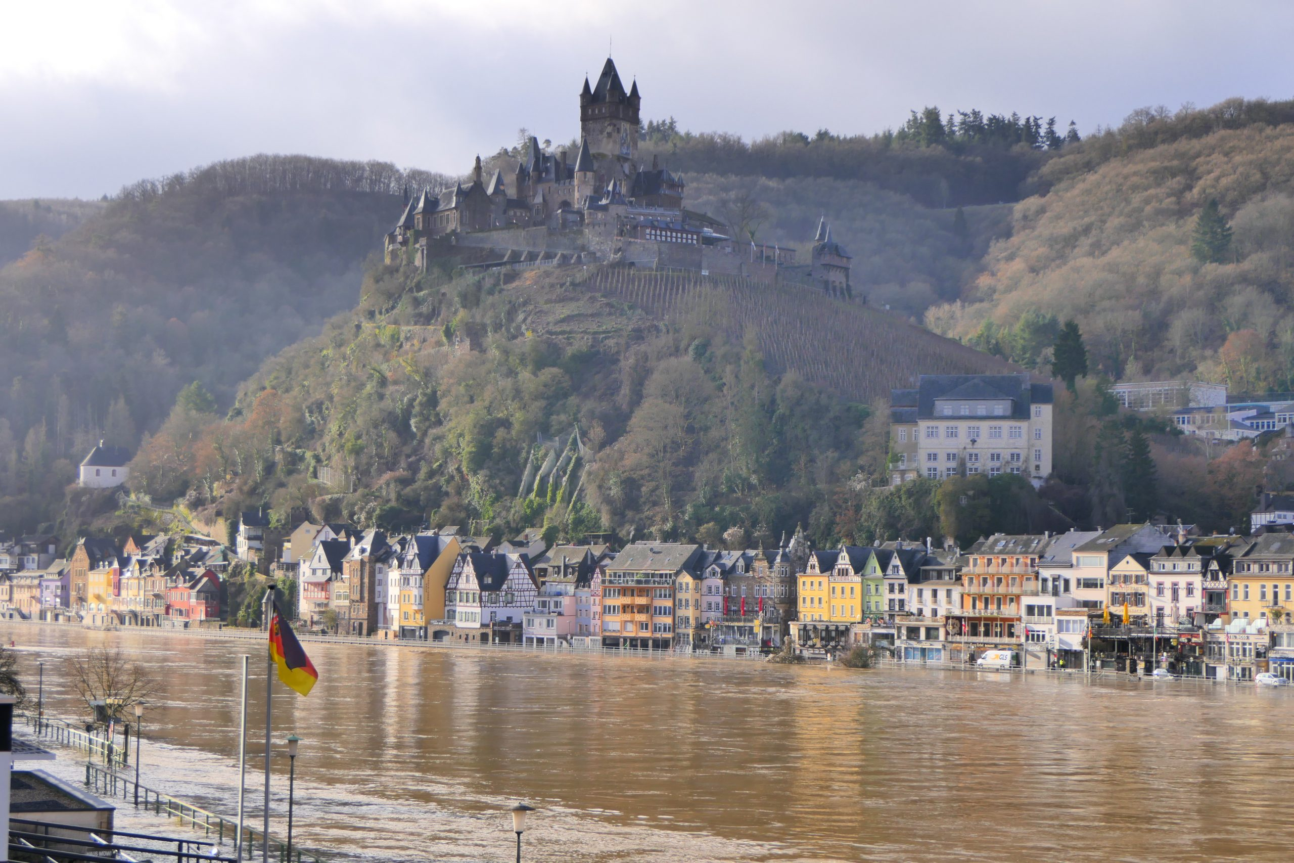 Hochwasser im Ferienland Cochem 2021
